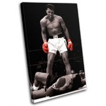Boxing Muhammad Ali Liston Sports - 13-1960(00B)-SG32-PO